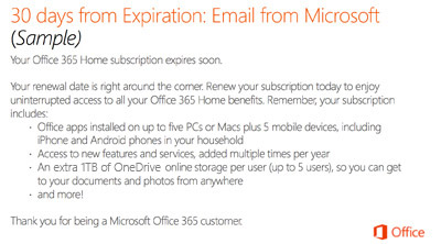 how to cancel microsoft office renewal